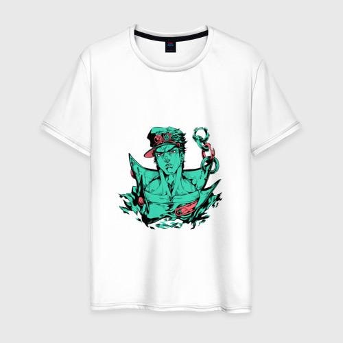 Мужская футболка хлопок Дзётаро Кудзё