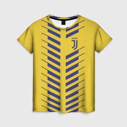 Женская футболка 3D Juventus 2018 Creative 1