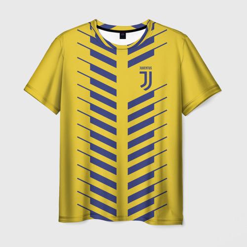 Мужская футболка 3D Juventus 2018 Creative 1