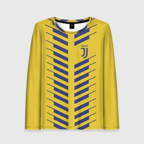 Женский лонгслив 3D Juventus 2018 Creative 1