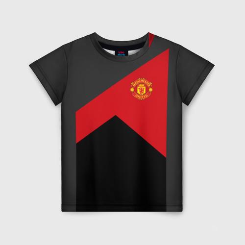 Детская футболка 3D Manchester United 2018 19