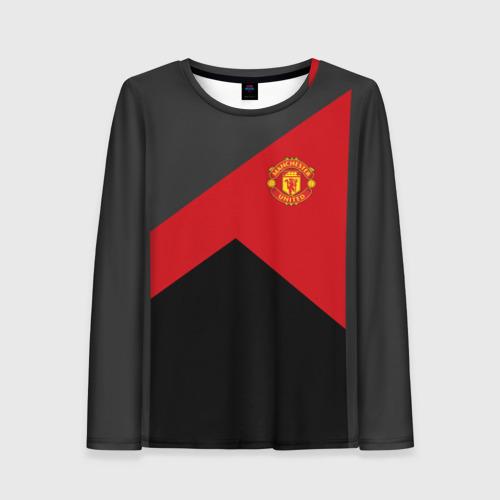 Женский лонгслив 3D Manchester United 2018 19