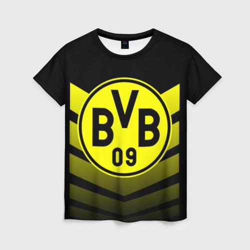 Женская футболка 3D FC Borussia 2018 Original 15