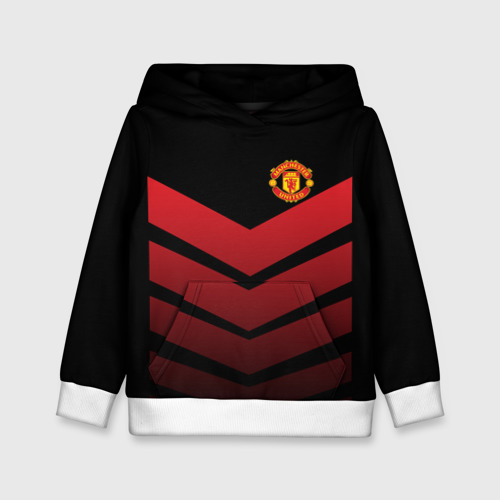 Детская толстовка 3D Manchester United 2018 Arrow