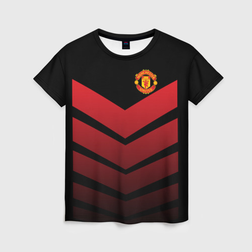 Женская футболка 3D Manchester United 2018 Arrow