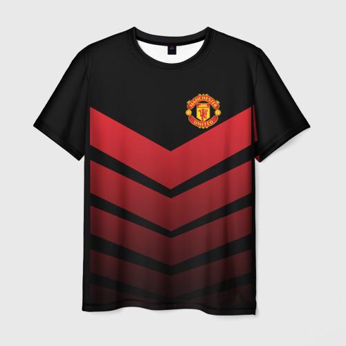 Мужская футболка 3D Manchester United 2018 Arrow
