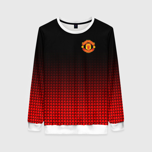 Женский свитшот 3D Manchester United 2018 22