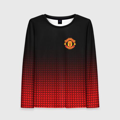 Женский лонгслив 3D Manchester United 2018 22