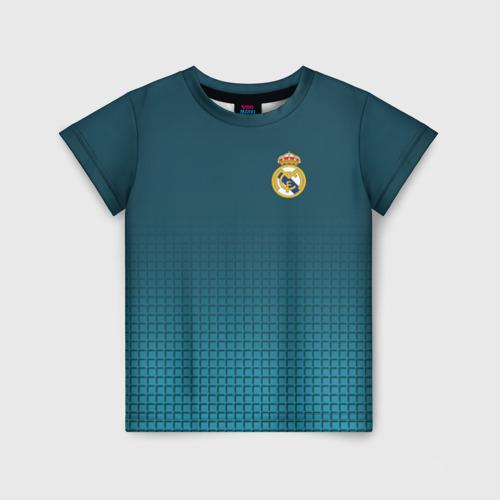 Детская футболка 3D Real Madrid 2018 14