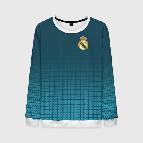 Мужской свитшот 3D Real Madrid 2018 14