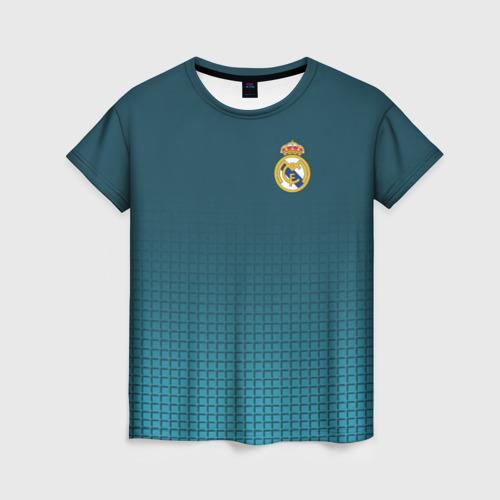 Женская футболка 3D Real Madrid 2018 14