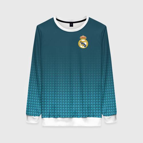 Женский свитшот 3D Real Madrid 2018 14