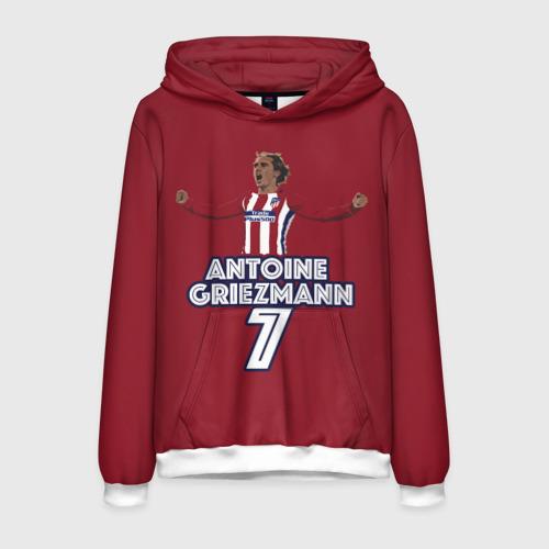 Мужская толстовка 3D Атлетико Мадрид Гризманн 2018
