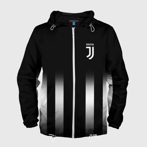 Мужская ветровка 3D Juventus 2018 Line