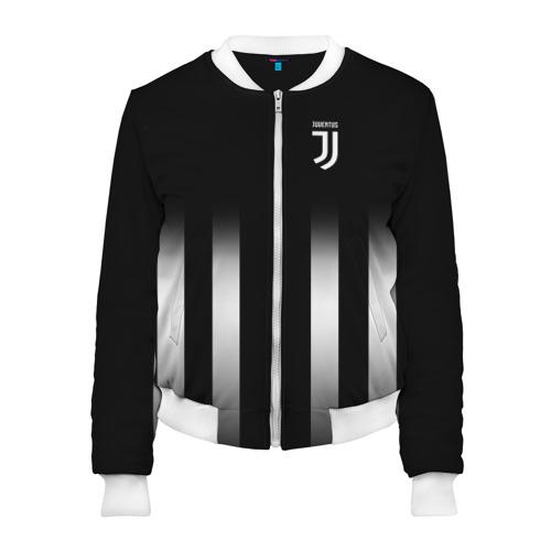 Женский бомбер 3D Juventus 2018 Line