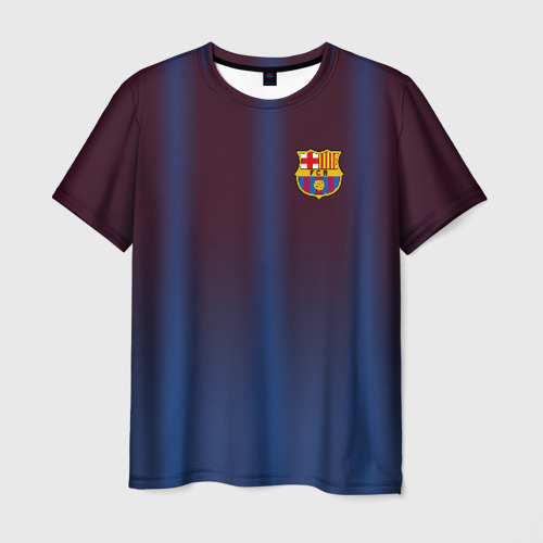 Мужская футболка 3D FC Barcelona Gradient