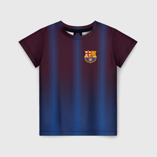 Детская футболка 3D FC Barcelona Gradient