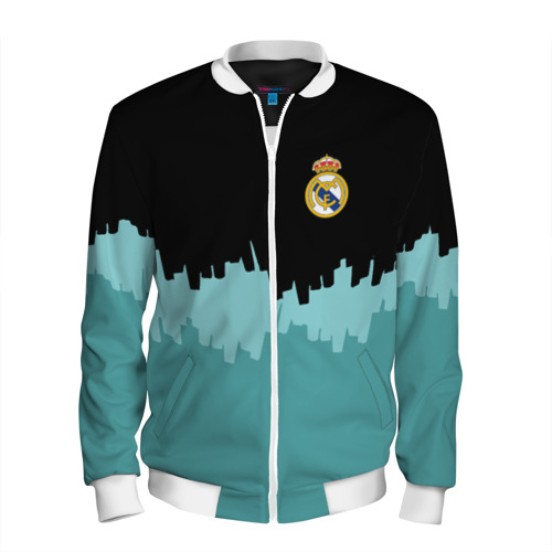 Мужской бомбер 3D Real Madrid 2018 Paints