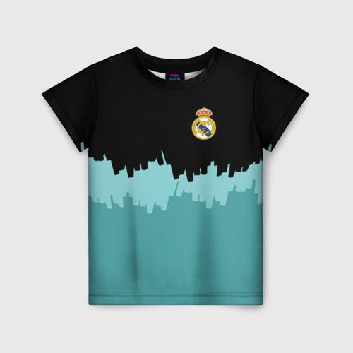 Детская футболка 3D Real Madrid 2018 Paints