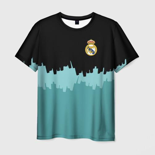Мужская футболка 3D Real Madrid 2018 Paints
