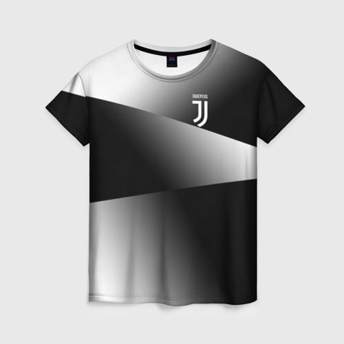 Женская футболка 3D Juventus 2018 Original 9