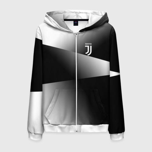 Мужская толстовка 3D на молнии Juventus 2018 Original 9