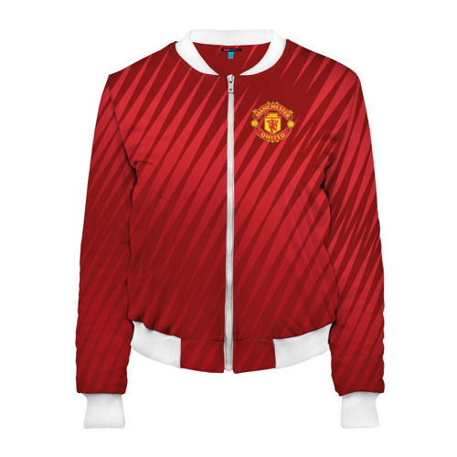 Женский бомбер 3D Manchester United Sportwear