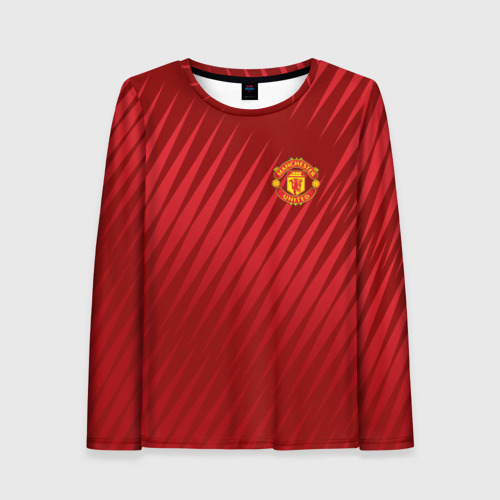 Женский лонгслив 3D Manchester United Sportwear