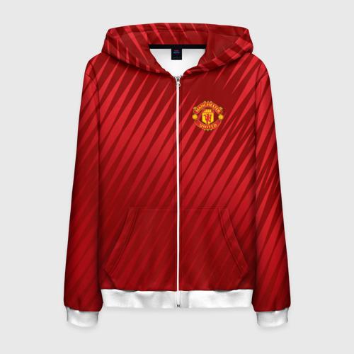 Мужская толстовка 3D на молнии Manchester United Sportwear
