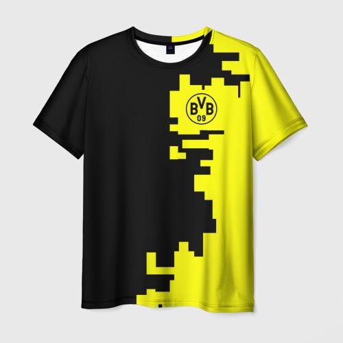 Мужская футболка 3D Borussia 2018 Geometry Sport