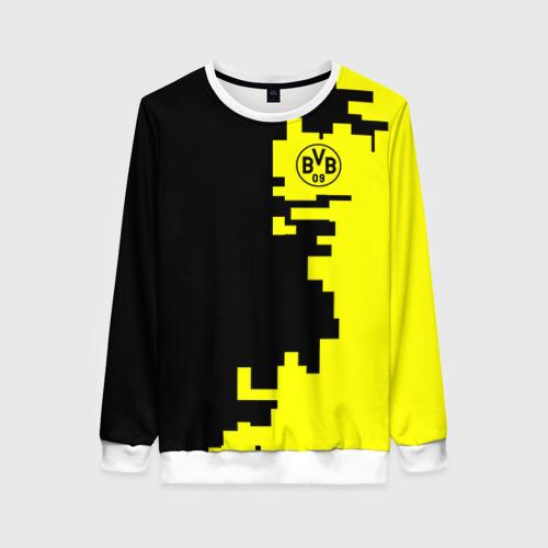 Женский свитшот 3D Borussia 2018 Geometry Sport