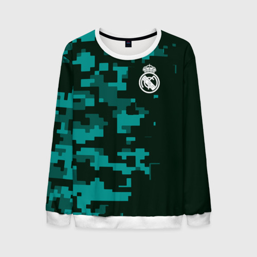 Мужской свитшот 3D Real Madrid 18 Military Sport