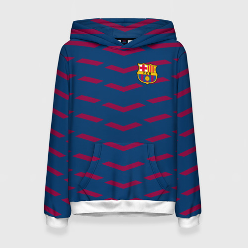 Женская толстовка 3D FC Barca 2018 Creative uniform