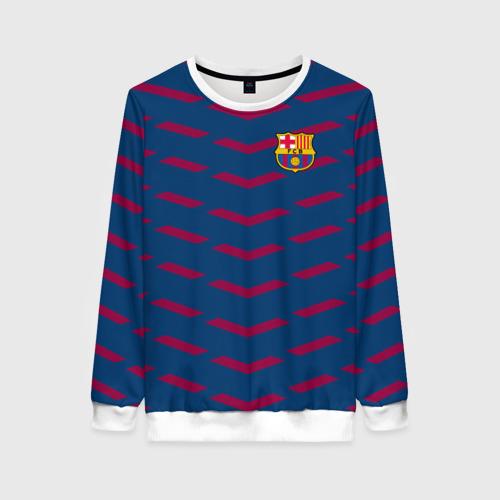 Женский свитшот 3D FC Barca 2018 Creative uniform