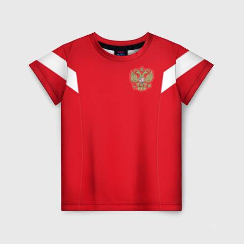 Детская футболка 3D Россия чемпионат мира 2018
