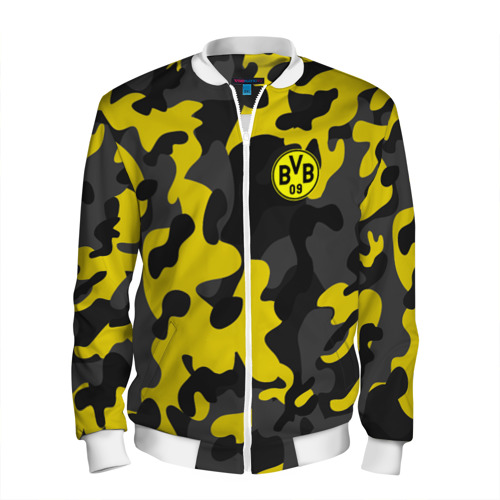 Мужской бомбер 3D Borussia 2018 Military Sport