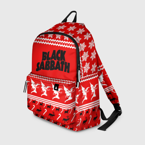 Рюкзак 3D Праздничный Black Sabbath