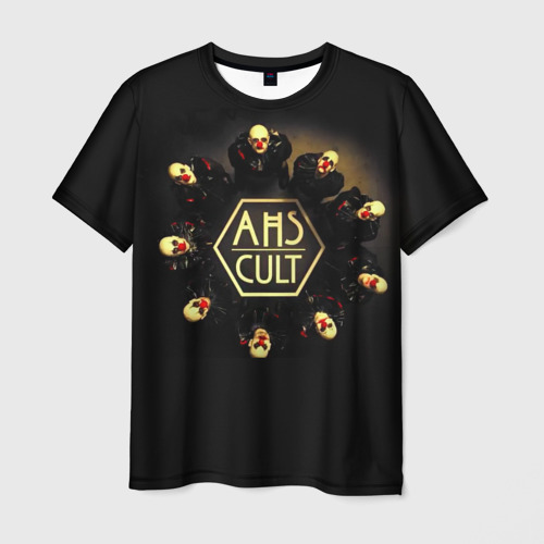 Мужская футболка 3D AHS Cult