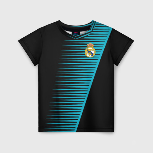 Детская футболка 3D Real Madrid Creative uniform