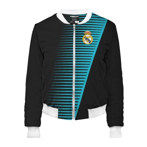 Женский бомбер 3D Real Madrid Creative uniform
