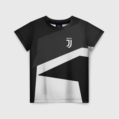Детская футболка 3D Juventus 2018 Geometry Sport