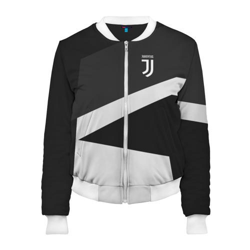 Женский бомбер 3D Juventus 2018 Geometry Sport