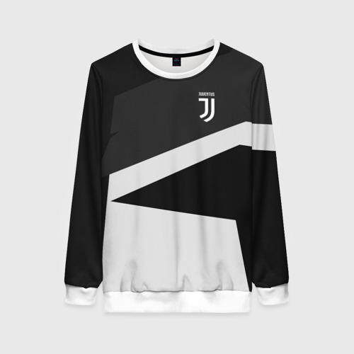 Женский свитшот 3D Juventus 2018 Geometry Sport