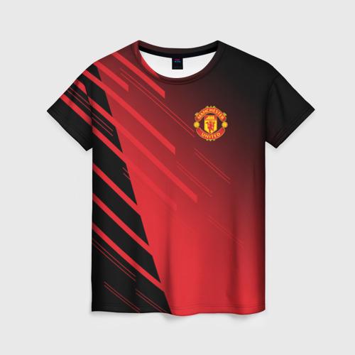 Женская футболка 3D F.C.M.U 2018 Geometry Sport