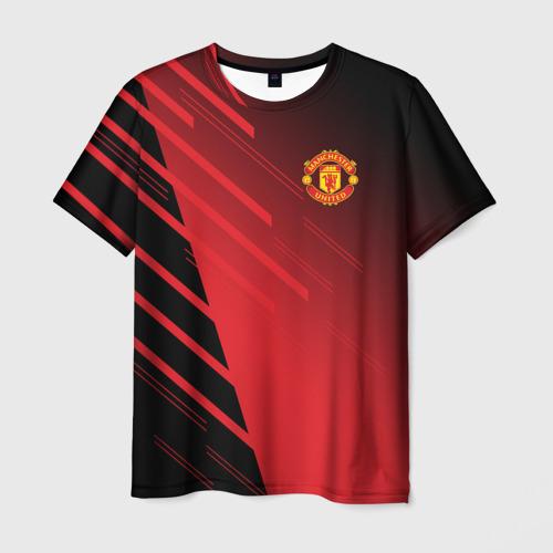 Мужская футболка 3D F.C.M.U 2018 Geometry Sport