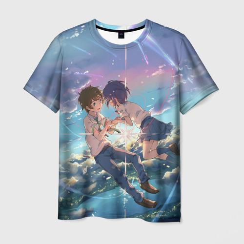 Мужская футболка 3D Your name_6