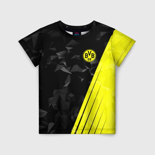 Детская футболка 3D FC Borussia 2018 Abstract