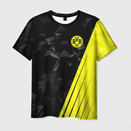 Мужская футболка 3D FC Borussia 2018 Abstract
