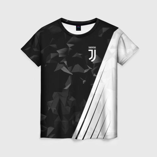 Женская футболка 3D JUVENTUS / ЮВЕНТУС