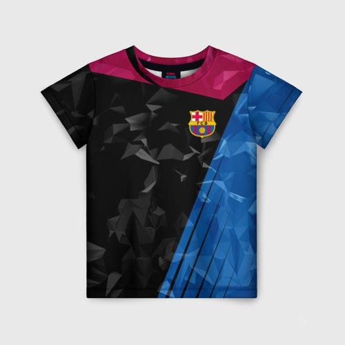 Детская футболка 3D FC BARCELONA
